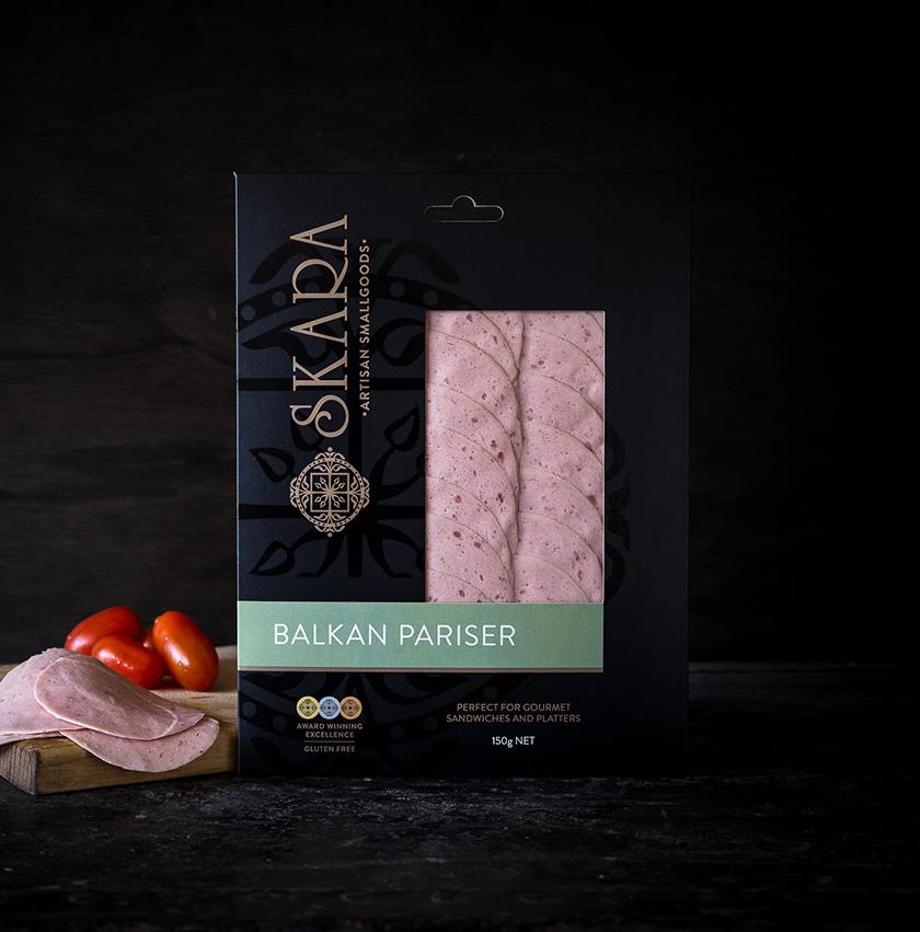 Skara Balkan Pariser 150g