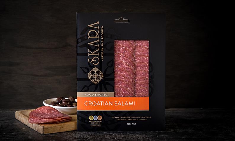 skara croatian salami 100g