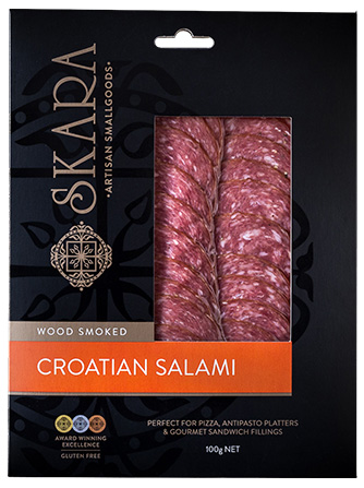 Skara Wood Smoked Croatian Salami