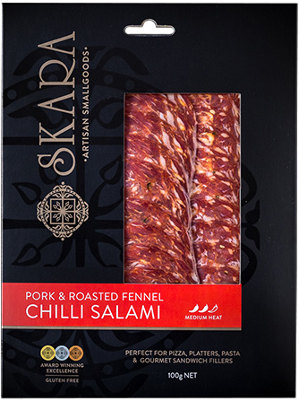 Pork and Roasted Fennel Chilli Salami