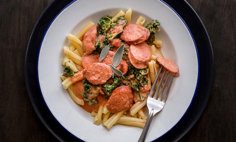 Skara Chorizo Sausage Pasta with Sage