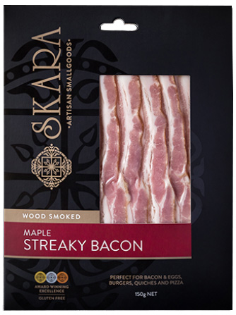 Skara Maple Streaky Bacon
